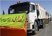 تلاش شبانهروزی 90 گروه راهداری در مسیرهای مواصلاتی فارس