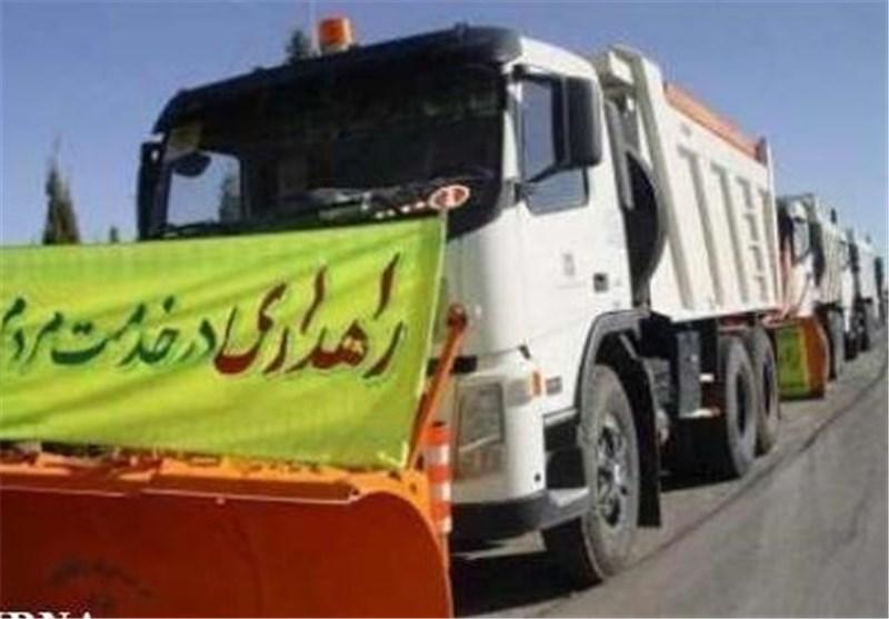 پوشش راهداری 8 هزار کیلومتر بزرگراه, راه اصلی و فرعی در کرمانشاه