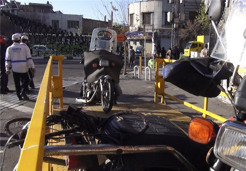 تهران| تشدید برخورد با موتورسیکلتهای متخلف از این هفته
