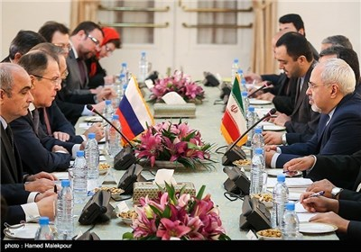 Photos: Iranian, Russian FMs Meet in Tehran