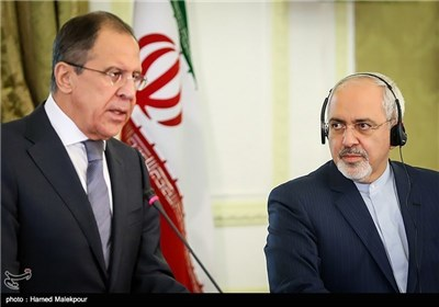 Iranian, Russian FMs Meet in Tehran