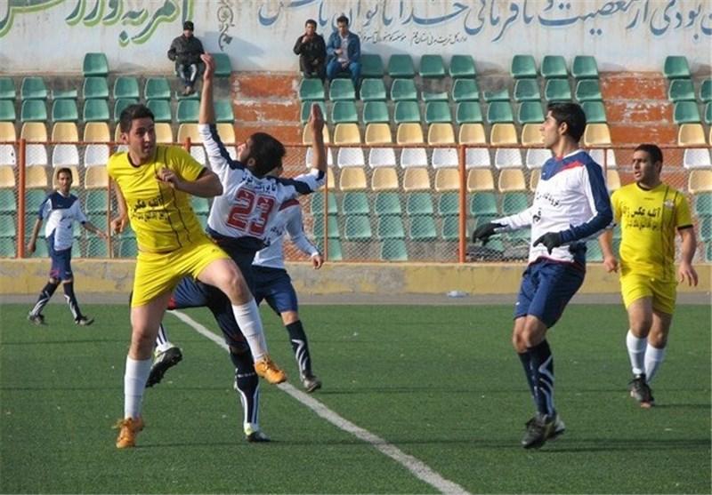 پیروزی مقتدرانه نماینده فوتبال کردستان برابر صبای قم