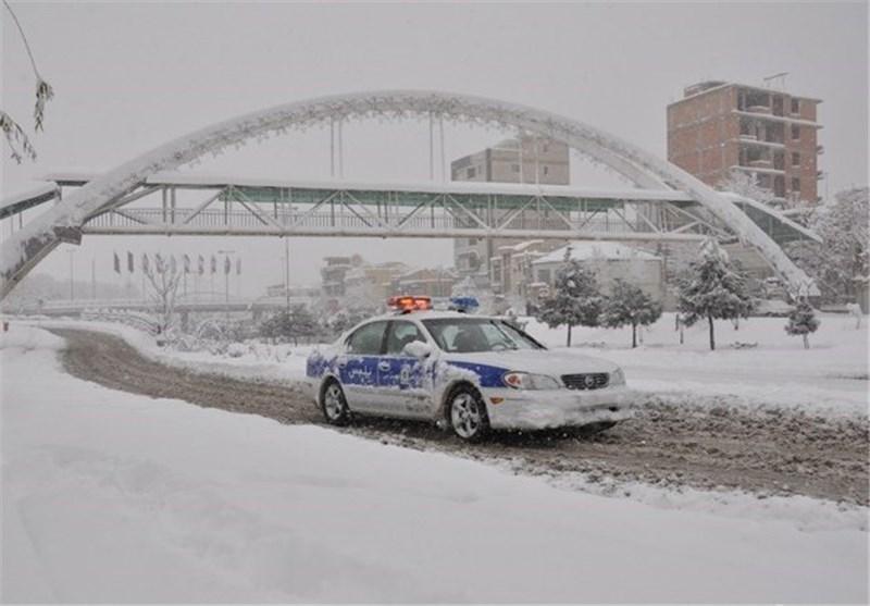 برف اروميه