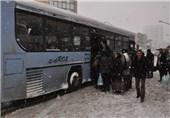 اسکان اضطراری 700 مسافر در انار کرمان