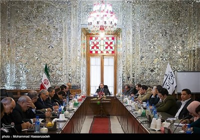 Delegation of Egyptian People Meets Iranian Parliament Speaker