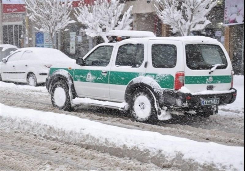 ممنوعیت تردد خودروهای فاقد زنجیر چرخ در کوهبنان
