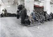 آستینهایی که برای نجات موزه استاد صنعتی بالا میرود