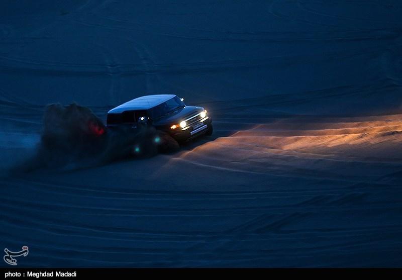 Off-Road Racing in Iran's Desert Areas