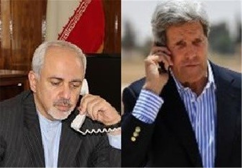 Spokeswoman Says Details of Zarif-Kerry Phone Call Confidential