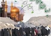 12 کاروان پیاده از تایباد به حرم امام رضا(ع) مشرف میشوند