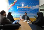 خانواده شهید کامیاب از دفتر خبرگزاری تسنیم در خراسان رضوی بازدید کردند