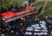 تصادف اتوبوس در شیلی 10 کشته برجای گذاشت