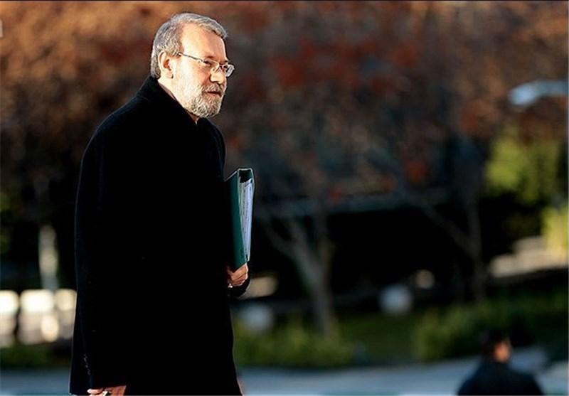دیدار رئیس مجلس شورای اسلامی با مردم قم