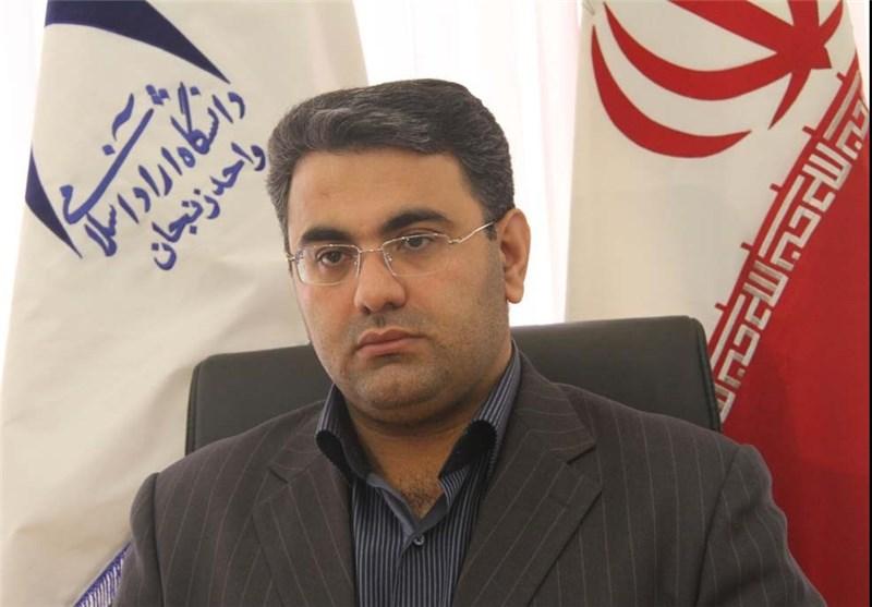علیرضا فیروزفر رئیس دانشگاه آزاد زنجان