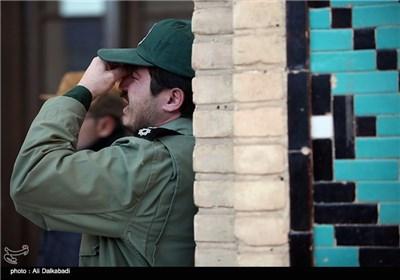 تشییع پیکر شهدای سراوان در سبزوار