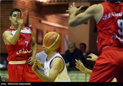 دیدار تیم های دانشگاه آزاد و افرا از مسابقات هفته یازدهم لیگ برتر بسکتبال