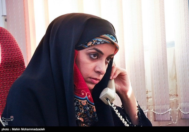 سامیه بلوچ زهی شهردار شهرستان سرباز