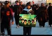 پرچم ایران برفراز موکب پذیرایی از زائران اربعین برافراشته شد