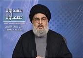 نصرالله: خون شهدای ما به هدر نرفته/ انتقام آنها را خواهیم گرفت