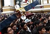 بولیوی نخستین ماهواره مخابراتی خود را پرتاب کرد