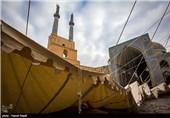 حکایت صدای سنگتراش سالمند از یک مسجد/ هنری سخت اما زیبا