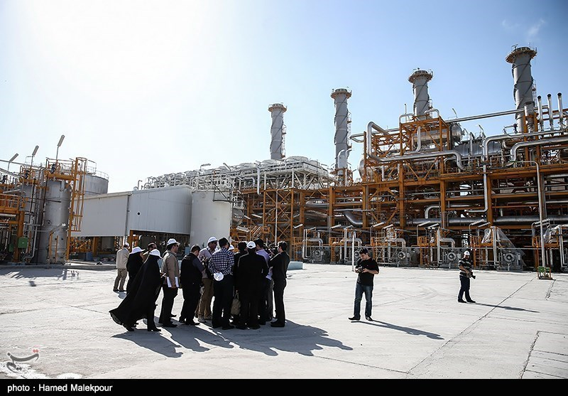 South Pars Gas Facilities in Southern Iran