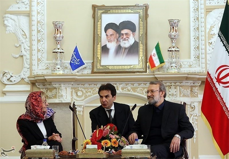 Italian FM Meets Iranian Parliament Speaker