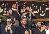میانداریِ شهید کاظمی در هیأت عاشقان ثارالله(ع) +عکس