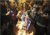 تظاهرات 20 هزار نفر از مخالفان دولت اوکراین در شهر کیف