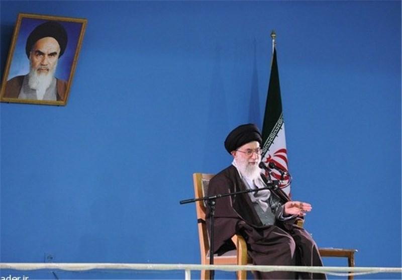 پخش بیانات رهبری در دیدار اعضای اجلاسیه شهدای مازندران