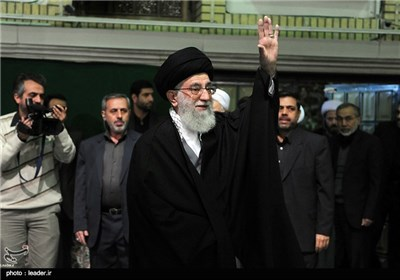 Arbaeen Mourning Ceremony Held in Presence of Supreme Leader