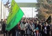 2000 عزادار دیری در اربعین حسینی پیادهروی کردند