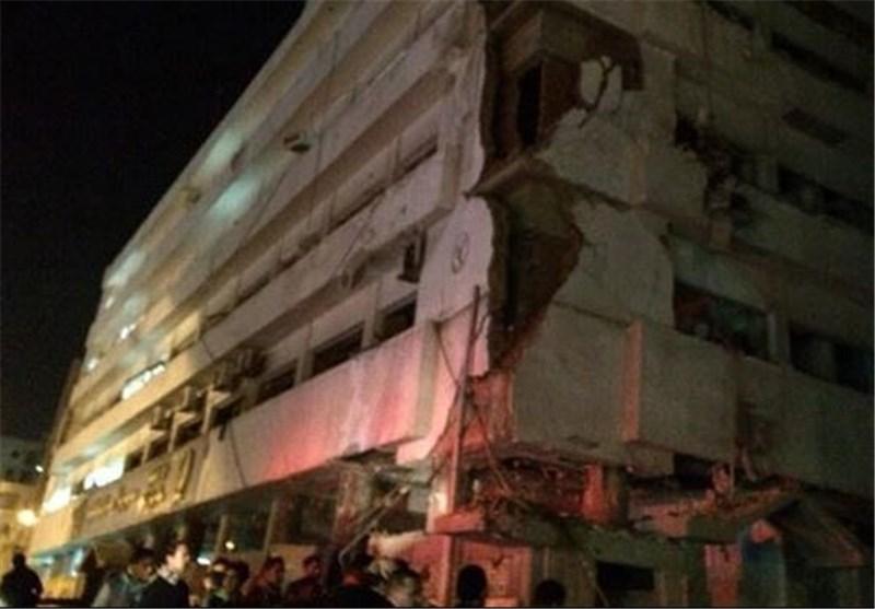 انفجار قرب مبنى للشرطة المصرية