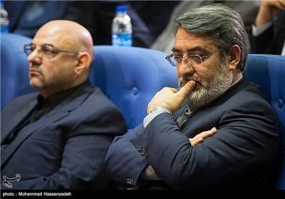 عبدالرضا رحمانی فضلی وزیر کشور در همایش روز ملی ثبت احوال