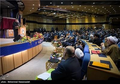 سخنرانی علی لاریجانی رئیس مجلس شورای اسلامی در همایش روز ملی ثبت احوال
