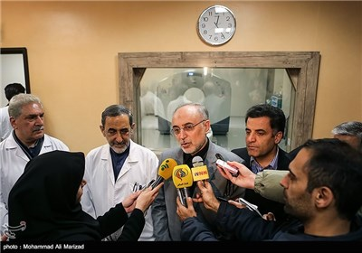 بازدید علی اکبر صالحی رییس سازمان انرژی اتمی از مرکز پزشکی هسته ای بیمارستان مسیح دانشوری