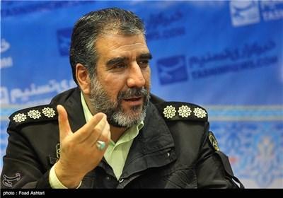 حضور عباسعلی محمدیان رئیس پلیس آگاهی تهران در خبرگزاری تسنیم
