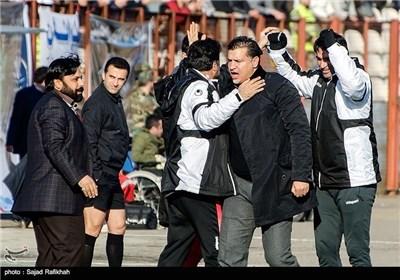 دیدار تیمهای فوتبال پرسپولیس و ملوان بندرانزلی