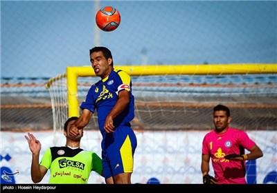 دیدار تیم فوتبال ساحلی دریانوردان بوشهر و گلسا پوش یزد