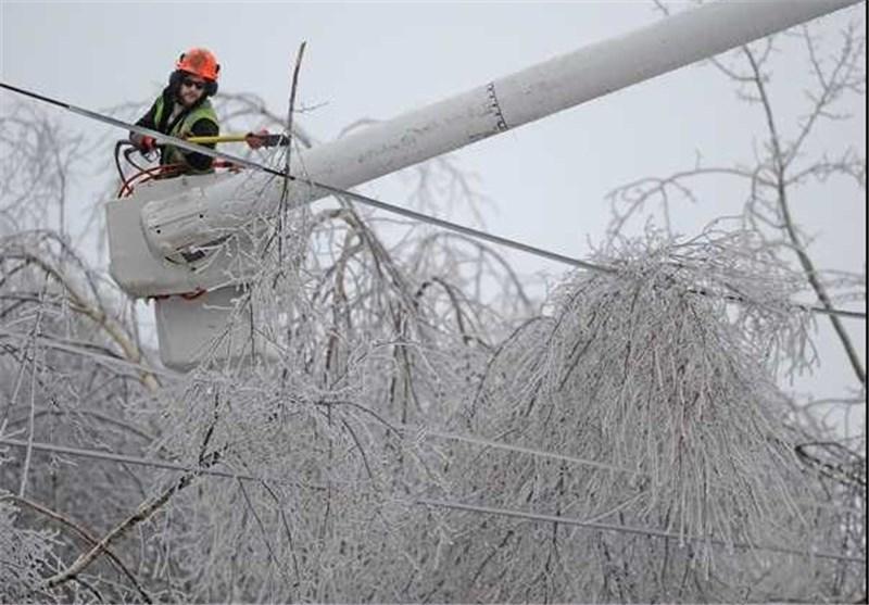 برف و کولاک کانادا