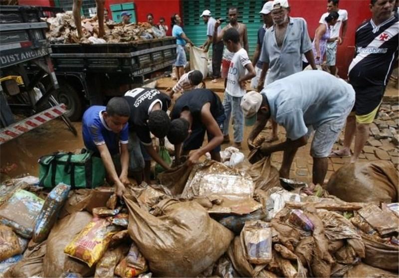 At least 44 Dead in Brazil's Flooding, Landslides