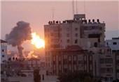 حمله جنگندههای صهیونیست به شمال غزه/ 2 نفر زخمی شدند