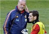 دلبوسکه: اتفاقی رخ ندهد، کاسیاس با اسپانیا به جام جهانی خواهد رفت