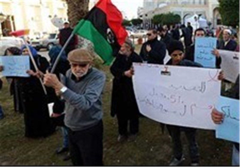 In Standoff, Libyans Protest over Parliament Extension