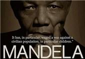 حمایت توأمان از ماندلا و صهیونیسم غیرممکن است + عکس