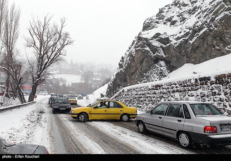 محور کیاسر - سمنان تا اطلاع ثانوی مسدود است/ ترافیک سنگین در کندوان و هراز