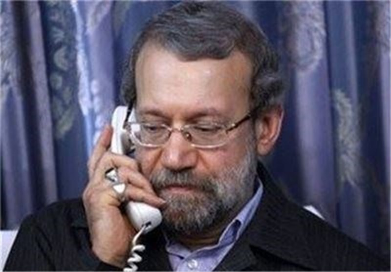 Larijani Asks Iraqis to Resolve Disputes by Relying on National Unity
