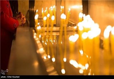 مراسم آغاز سال نو میلادی مسیحیان ایران در کلیسای سرکیس مقدس