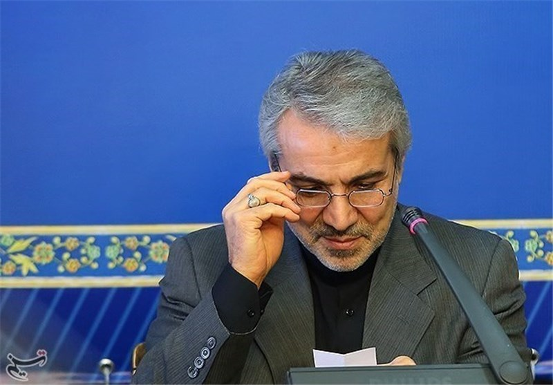 متحدث الحکومة: طهران تسلمت 550 ملیون دولار من ارصدتها المجمدة
