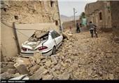 خسارات ناشی از زلزله در بستک